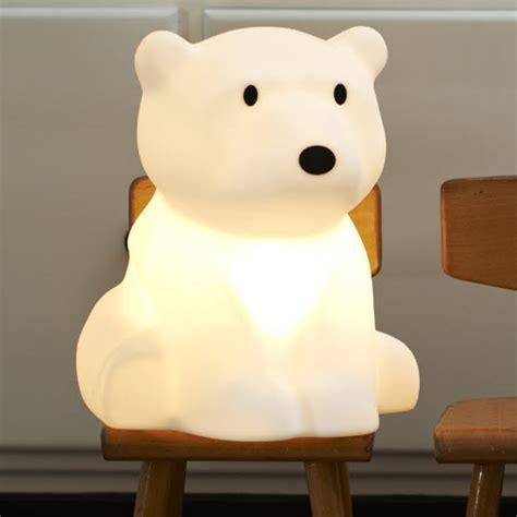 veilleuse pour chambre déco ours polaire pour la chambre de bébé