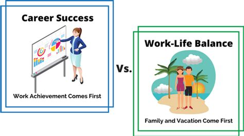 put work life balance career success vacationcounts