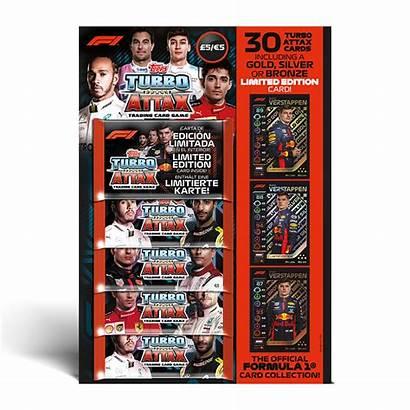 Turbo Attax Xl Packs Cards Formula1 Bundle