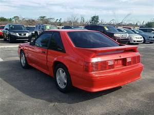 '93 Fox body Mustang GT in Bright Red and garage kept only 49K miles NEW CLUTCH - Classic Ford ...