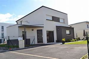 maison moderne a vannes With marvelous maison toit plat en l 4 maison neuve contemporaine toit plat