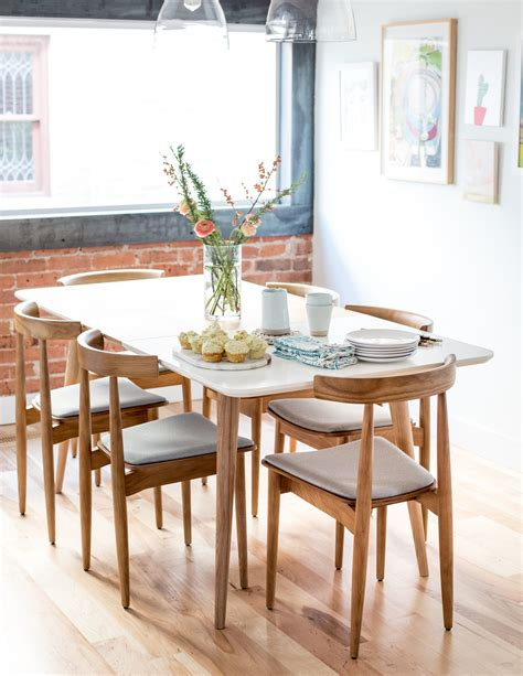 modern kitchen dining tables and chairs mid century modern dining table and chairs flax twine