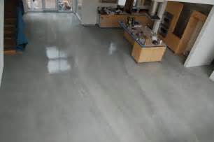 Patio Acid Stain by Grey Stained Concrete Floors Concrete Floors Bradenton