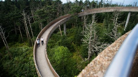 Clingmans Dome Tower reopens for winter, repairs to resume ...