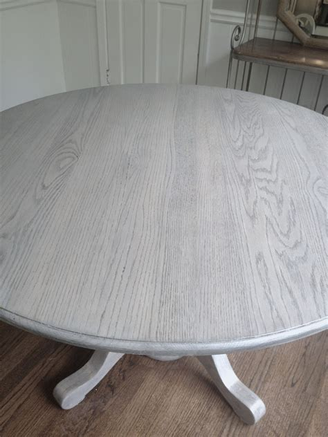 long   diy kitchen table refresh