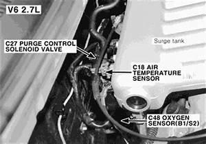 Lincoln Oxygen Sensor Location Diagram