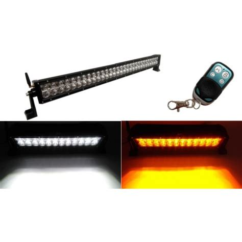 32 quot 180w led light bar w 6 strobe patterns