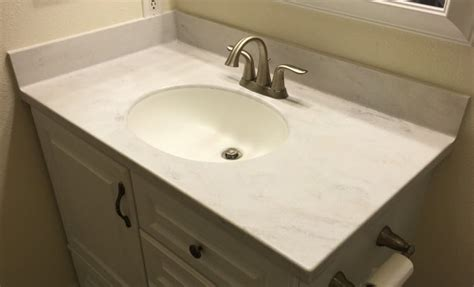 install corian solid surface vanity tops