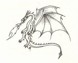 Wyvern Coloring Pages
