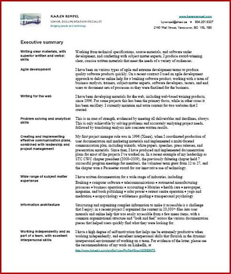 Resume Services Medicine Hat by Technical Writer Resume Doc