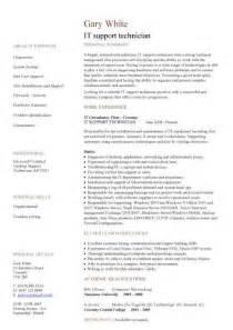 It Cv Template Cv Library Technology Job Description