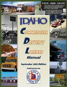 Commercial Driver Manual For Cdl Training  Idaho  On Cd In