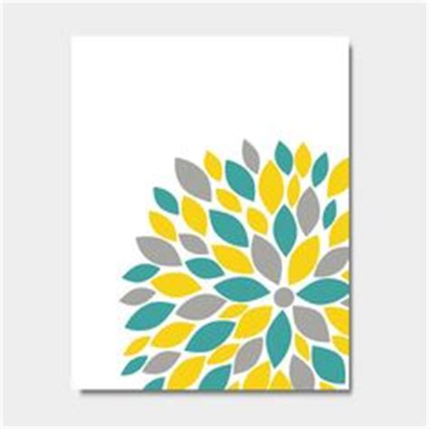 Yellow And Teal Bathroom Decor by Teal Yellow Grey On Teal Yellow Modern Condo