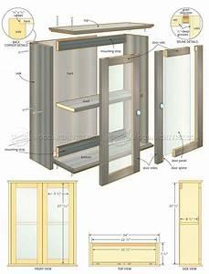 Bathroom Wall Cabinet Plans • WoodArchivist