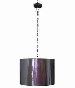 Deep glamour fabric drum shape pendant light buy