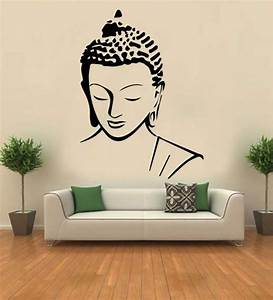 buy hoopoe decor meditating buddha vinyl wall sticker With best brand of paint for kitchen cabinets with buddha wall art decor