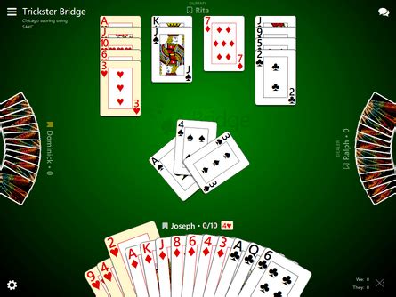 Bridge is a popular game and there are many online resources to help you get started. Trickster Bridge