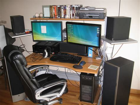 multi monitor gaming desk 5 accessories to make your pc gaming easier