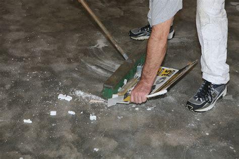 garage floor paint ucoat it ucoat it do it yourself epoxy floor coating kit install hot rod network