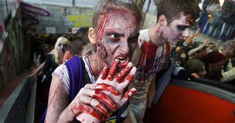 zombie apocalypse zombies fake virus mirror