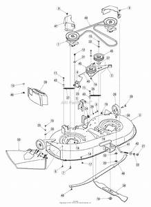 Troy Bilt 13an779g766 Pony  2005  Parts Diagram For Deck