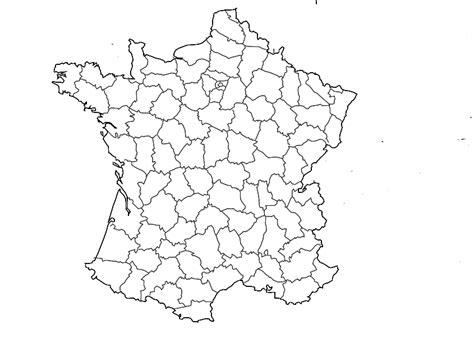 Carte De Par Département à Colorier by Carte De Departement Vierge A Colorier My