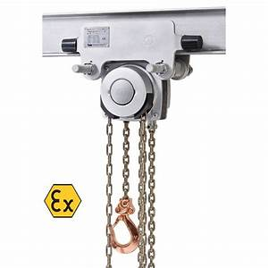 Yalelift It Atex Hand Chain Hoist With Integrated Push Or