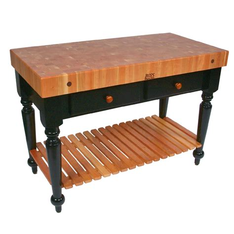 cherry wood kitchen island table kitchen islands tables cherry top kitchen island with 8196