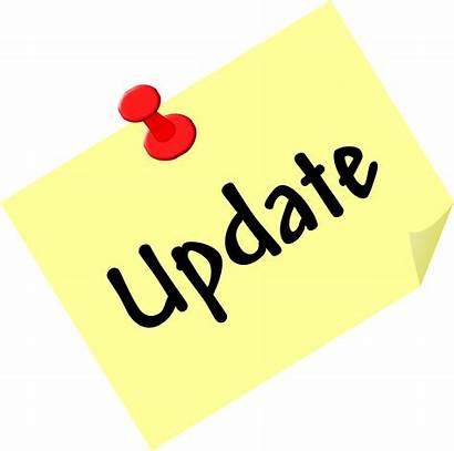 Update Note Clipart Sign