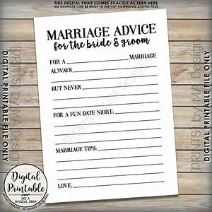 wedding advice cards for bridal shower bridal shower advice cards