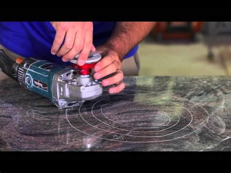 Polishing Countertops - diy how to granite counters like a professional