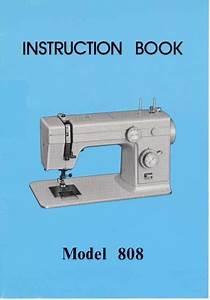 Janome 808 Sewing Machine Instruction Manual