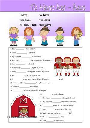 worksheet verb pictures schematic  wiring diagram