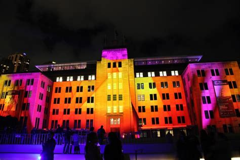 larger  life  projection mapping  sydney