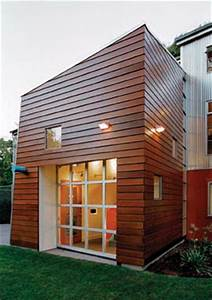 Seattle Home Exterior with Ipe Siding - East Teak