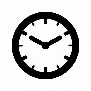round clock icon – Free Icons Download