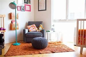 Neon Deco Chambre : une chambre d enfant orange deco vintage bedroom pinterest turquoise orange and ~ Teatrodelosmanantiales.com Idées de Décoration