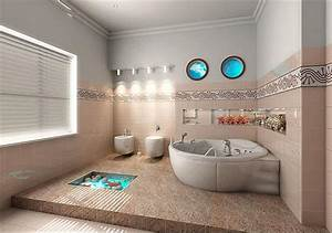 Wall designs for bathrooms : Bathroom wall decorating ideas with images