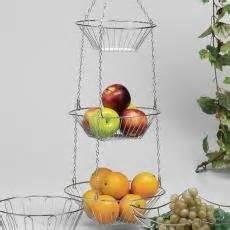 Obstkorb Zum Aufhängen by Obstkorb Zum Aufh 228 Ngen H 228 Ngekorbsatz 3 Teilig Chrom