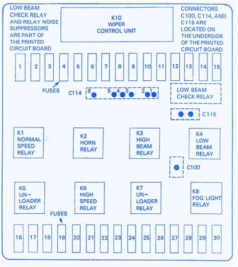 Bmw Main Fuse Box Block Circuit Breaker Diagram