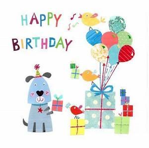 Happy Birthday Dog Clip Art – Cliparts