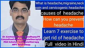 Neck Pain  Cervicogenic Headache Migraine And Tension Type
