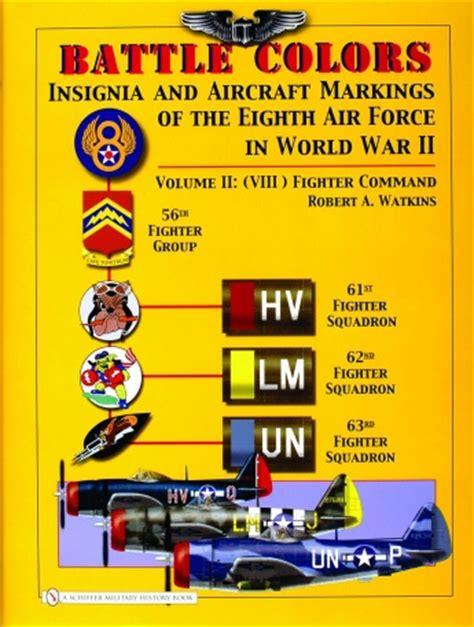 battle colors insignia  aircraft markings