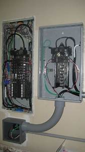 Adding A Sub Panel For Transfer Switch - Electrical