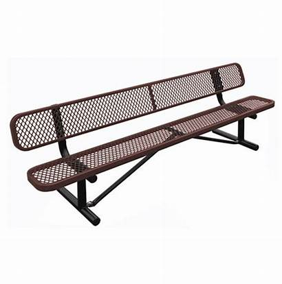 Bench Metal Standard Expanded Park Craft Leisure