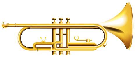 Trumpet Clipart Trumpet Clip Image Black And White