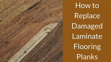 Laminate Floor Bubbling Fix by Replacing Water Damaged Laminate Flooring Planks Meze