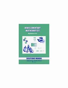 Singapore Math Grade 8 Sol  Manual  Level 2