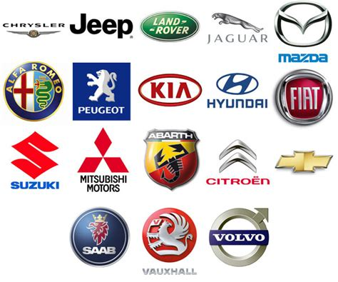 Car Manufacturer Logo by Car Manufacturers Logos Cartestimony