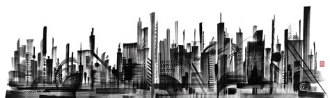 SKYLINE - Wall coverings / wallpapers from LONDONART